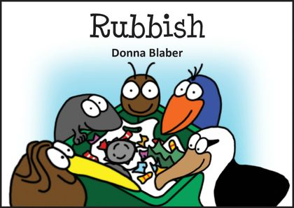 HOT NEW RELEASE - Rubbish - Book 7 in the Kiwi Critters series, incl free delivery worldwide!