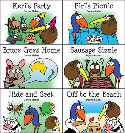 SALE - 6 Kiwi Critters Books for $20 + FREE delivery in NZ!