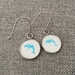 Little Blue Dolphin Earrings