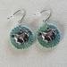 Monoprint Horse Earrings