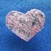 Heart Textile Art Brooch