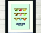 Crown Lynn Cups Print