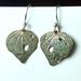 Kawakawa leaf earrings 16mm