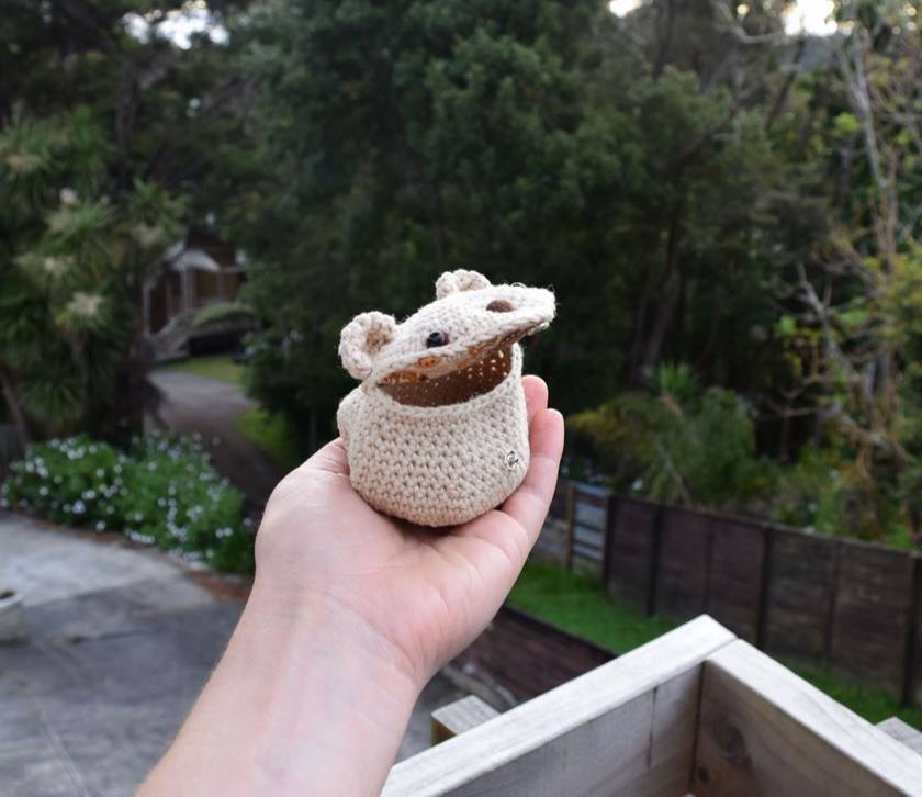 Hamster Pouch.