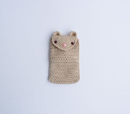 Hamster Phone Sleeve.