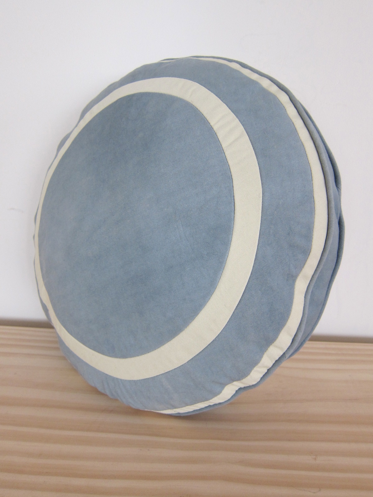 Wedgewood circular pillow felt Wedgewood designs
