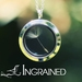 Dandelion Wish Locket with 925 Silver Chain