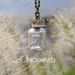 Dandelion Wish Bottle Necklace