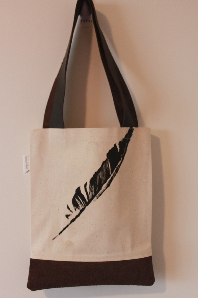 Tote Bag: Printed Canvas Tote Bag