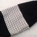 Plastic Bag Holder  -  ON TREND CHEVRON TRIM - Looks great and Super useful