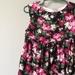 GORGEOUS COTTON ROSE FABRIC DRESS
