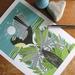 Fantail + Fern  Print