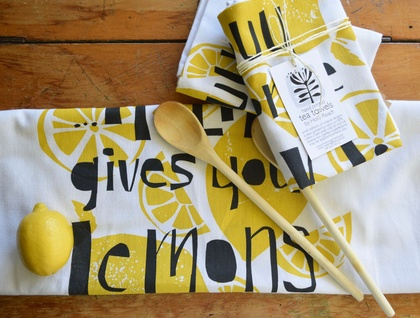 Gin + Tonic Tea Towel