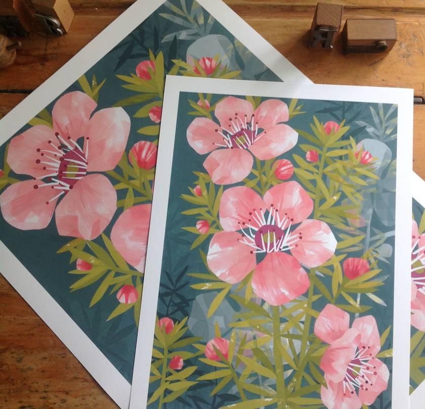 Manuka A4 Giclee Print