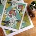 Houhere (Lacebark)   A4 Giclee Print