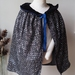 SILVER SEQUIN MAGICIAN CAPE  3 - 6  years