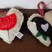 Kiwiana Vintage Hearts