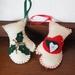 Vintage Wool Christmas Mittens