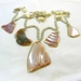 Pink Mussel and Fresh Water Pearl Necklace