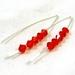 Sian Crystal V Style Earrings