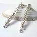 Sterling Silver Tornado Earrings