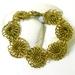Brass Chrysanthemum Chainmaille Bracelet