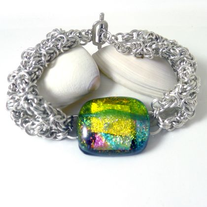 Festival Chainmaille Bracelet