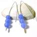Lavender Jade V Style Earrings
