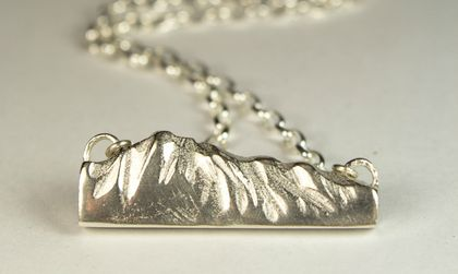 The Remarkables Pendant in Sterling Silver