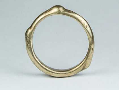 The Twig Ring - bronze