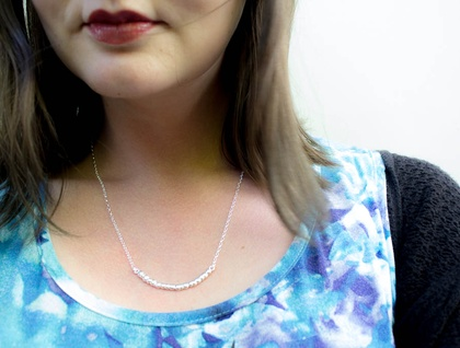 Annui Necklace- sterling silver