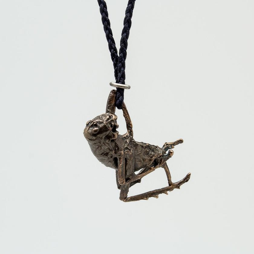 Weta pendant - bronze