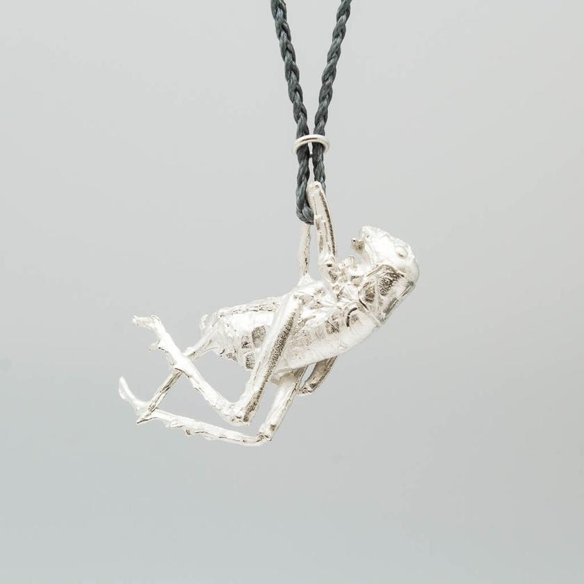 Weta pendant - sterling silver