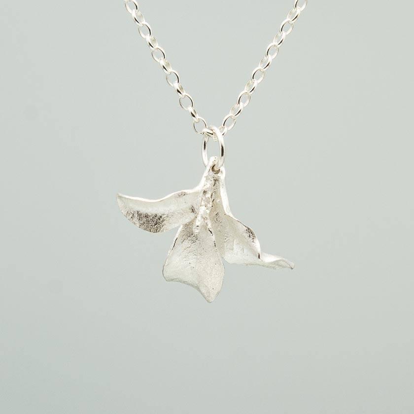 Waimea Leaf Pendant- sterling silver