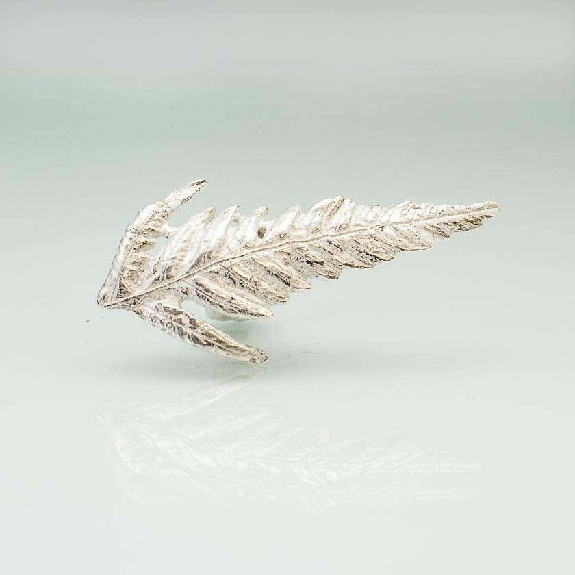 Silver Fern pin