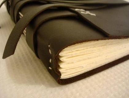 Handbound Leather Journal - 21cm x 15cm