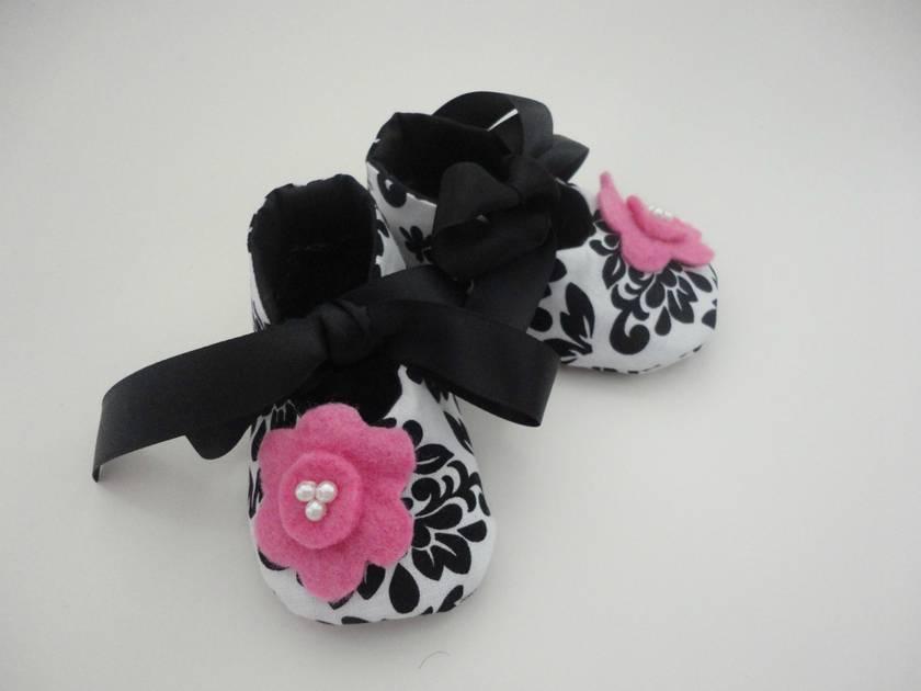Designer Cotton Baby Shoes