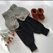 Wool Vest and Booties with Merino Harems