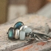 Shoreline - Labradorite, Aquamarine and Sterling Silver Pebble Earrings