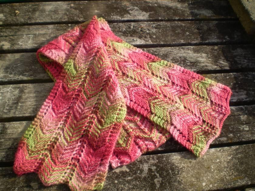 Matsumae Park scarf - 100% NZ wool