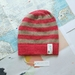 Brooklyn striped beanie - luxury winter hat with hand dyed merino stripes