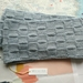 Bushido light blue unisex infinity scarf - knitted from pure NZ wool