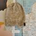 Hudson luxury beanie - speckled grey wool hat