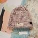 Hudson luxury beanie - speckled amethyst purple wool hat