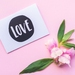 Mothers Day Greeting Card & Envelope - Love