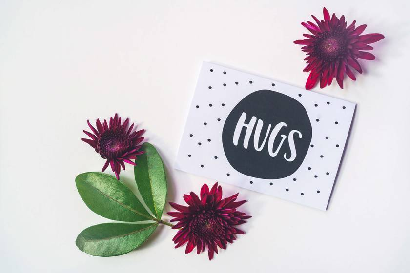 Greeting Card & Envelope - Hugs