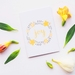 Greeting Card & Envelope - Floral Joy
