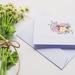 Greeting Card & Envelope - Floral Pastels