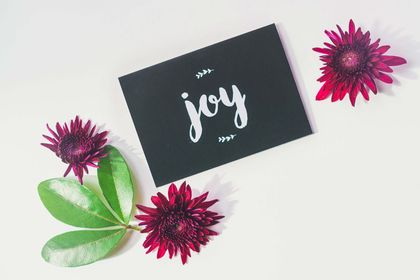 Greeting Card & Envelope - Joy