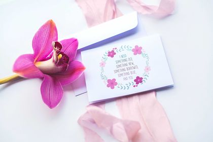 Will You Be My Bridesmaid Greeting Card & Envelope